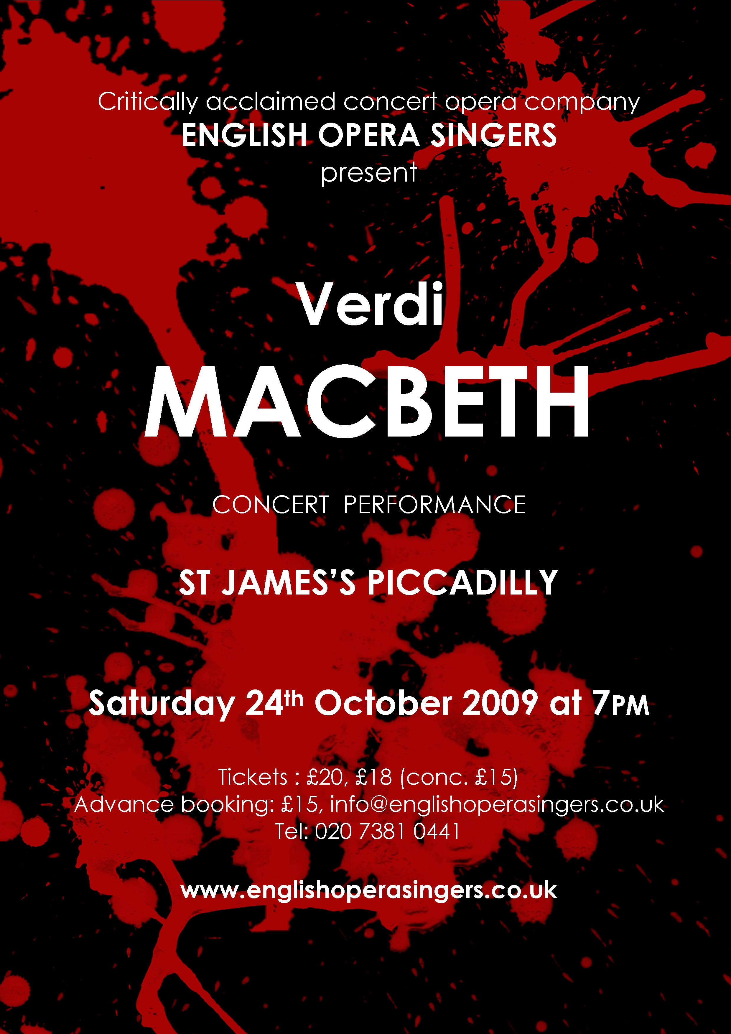 Macbeth, London